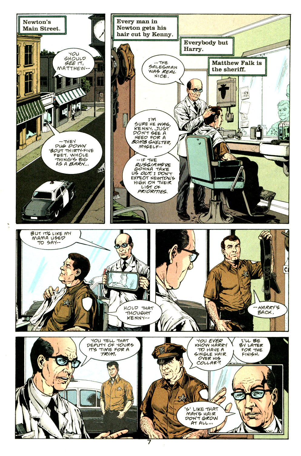 Read online American Century comic -  Issue #10 - 8