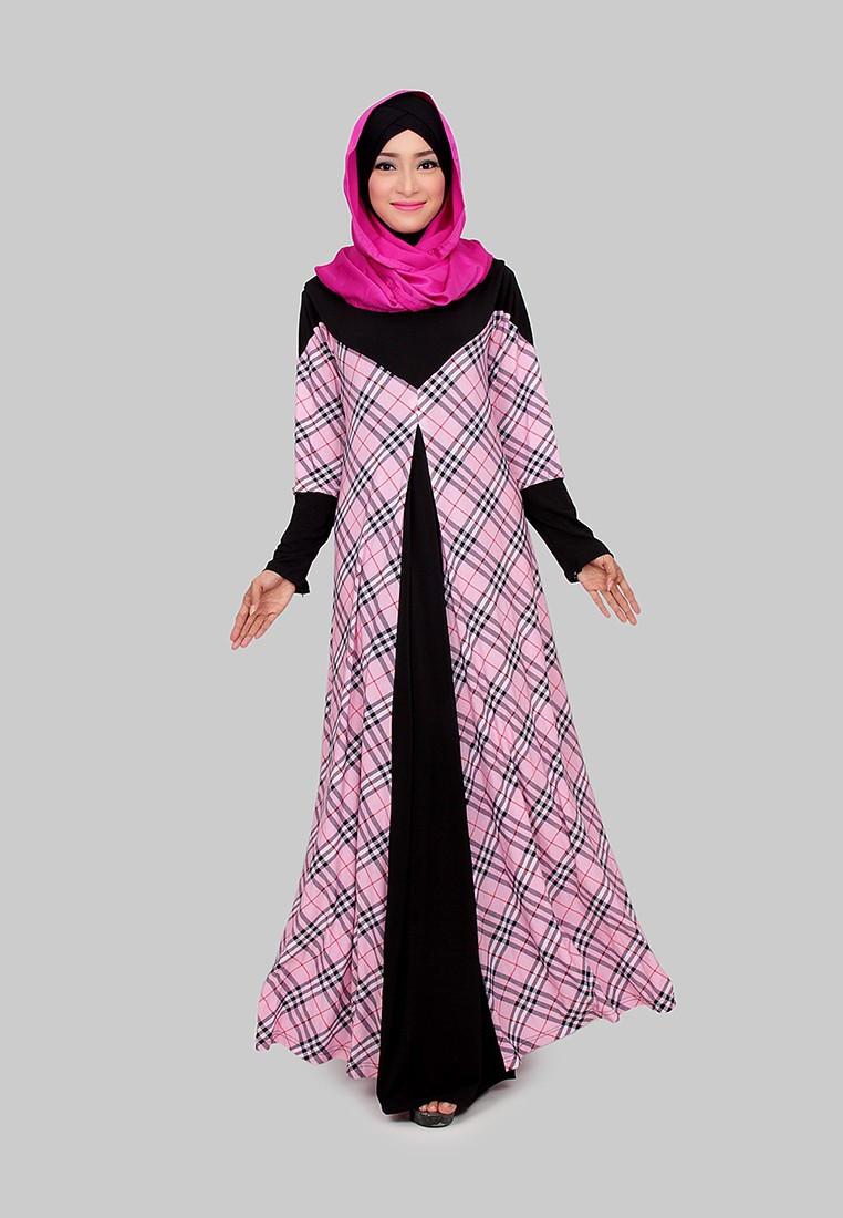 77 Model Baju Muslim Modern Terbaru Untuk Remaja Masa Kini Gaya a42171045a