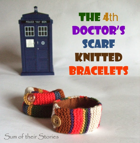 Doctor Who Scarf Bracelet
