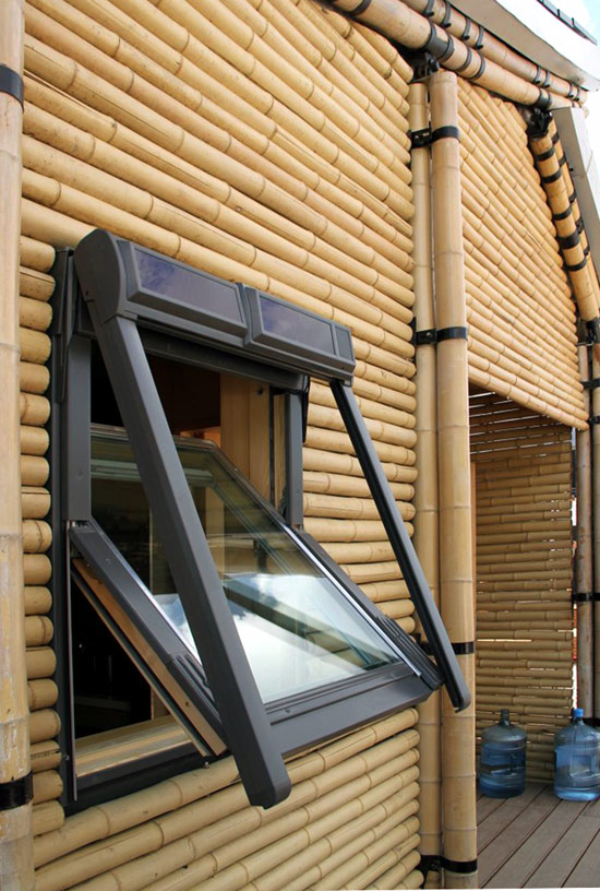 Nature Friendly Bamboo House Design: Bamboo Lamp Photo: Bamboo House Designs In The Philippines