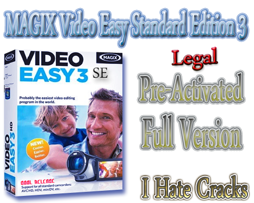 Get MAGIX Video Easy Standard Edition 3 Full Vesion