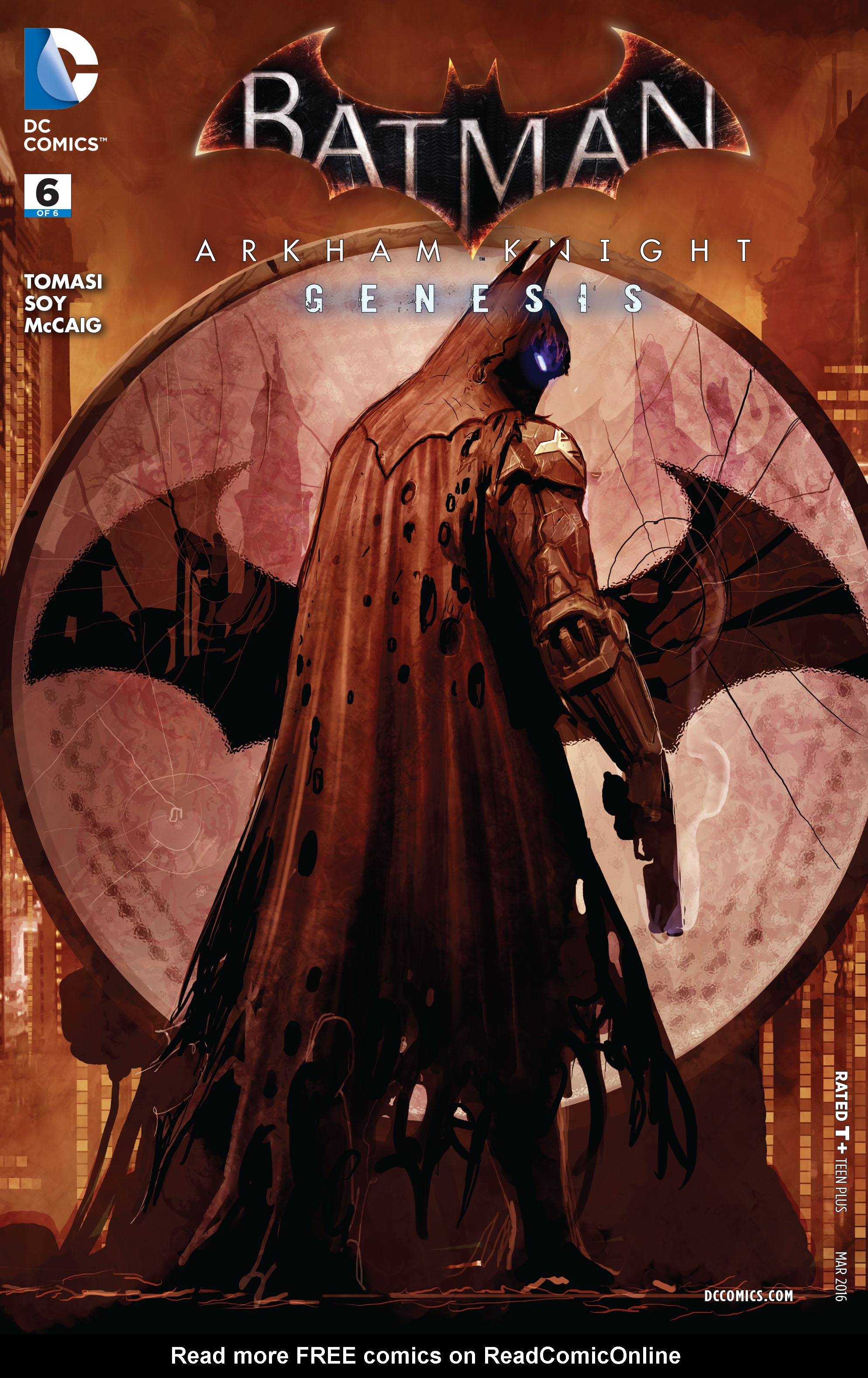 Batman: Arkham Knight: Genesis 6 Page 1