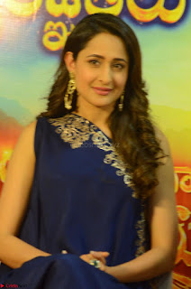 Pragya Jaiswal in beautiful Blue Gown Spicy Latest Pics February 2017 128.JPG