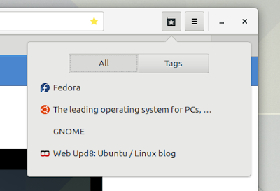 GNOME 3.24 web epiphany
