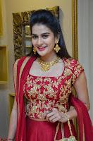 Jenny Honey in Stunning Dark Red Anarkali Dress at Splurge   Divalicious curtain raiser ~ Exclusive Celebrities Galleries 018.JPG