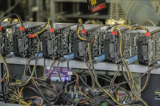 Samsung begins production of Cryptocurrency mining Chips