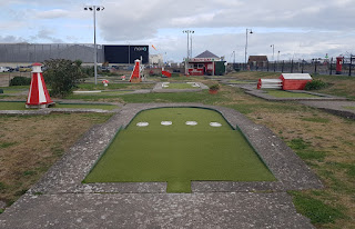 Crazy Golf course in Prestatyn