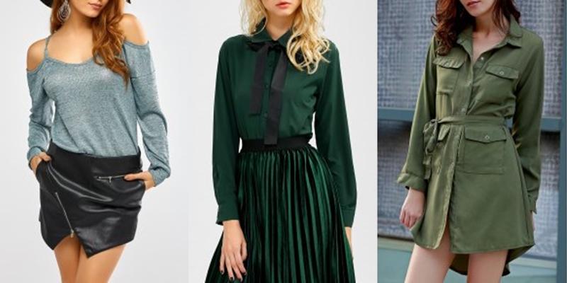 Czy zielona koszula może być sukienką?