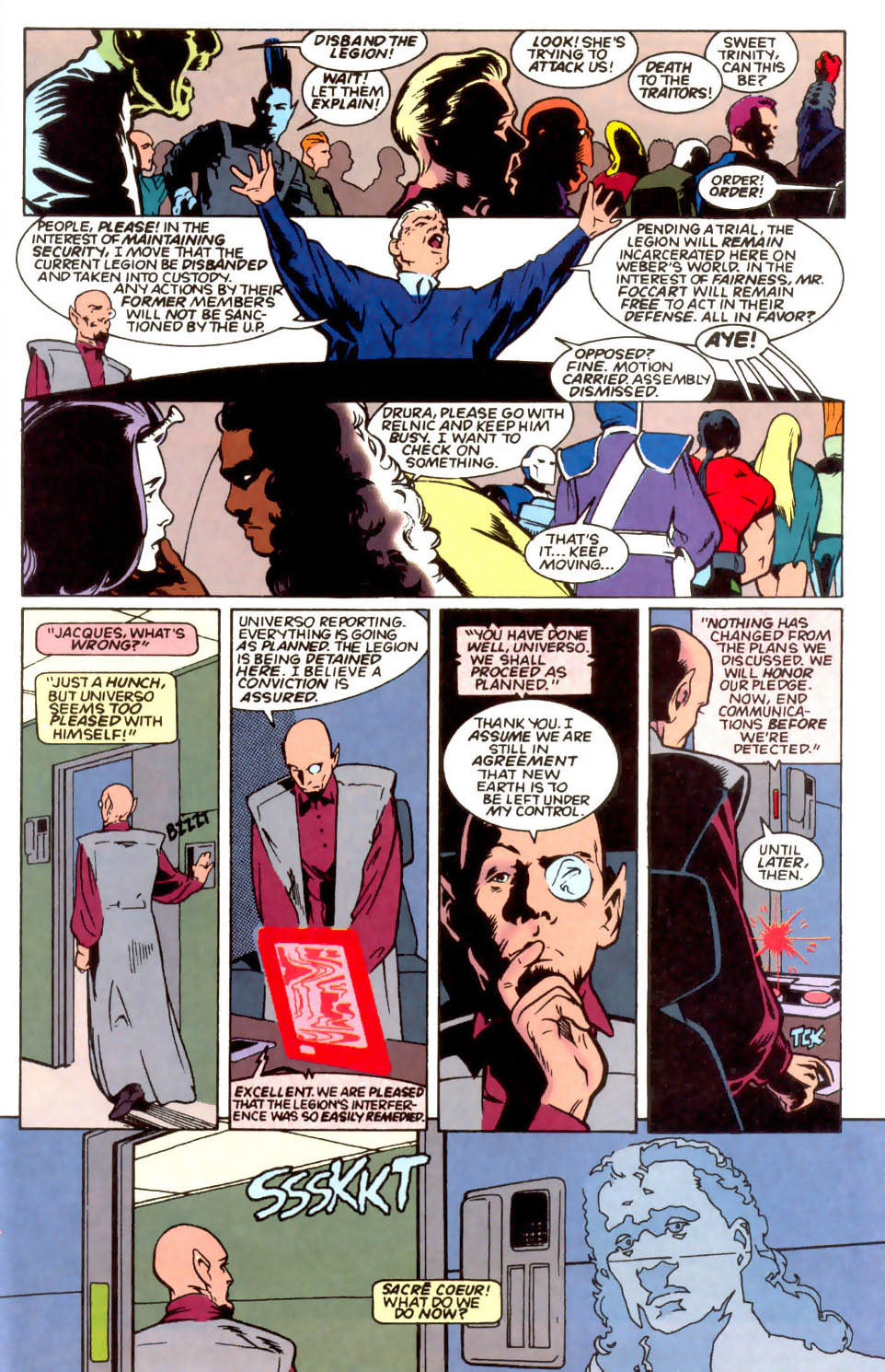 Legion of Super-Heroes (1989) 54 Page 13