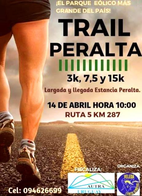 Trail Peralta (Tacuarembó, 14/abr/2019)