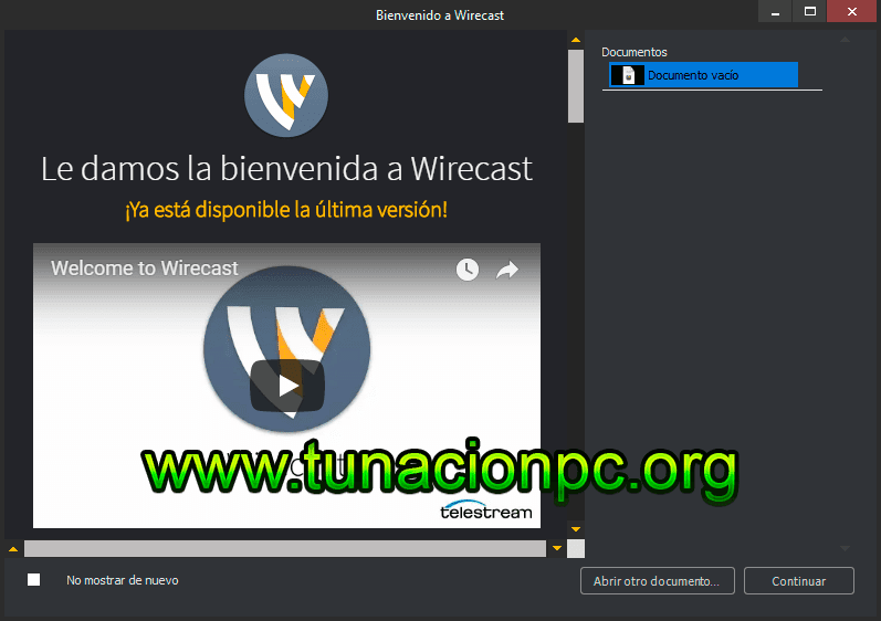 Descargar Telestream Wirecast Pro Final Español con Activador
