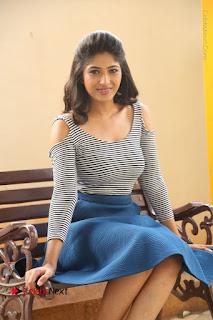 Telugu Actress Roshini Prakash Stills Short Dress at Saptagiri Express Release Press Meet  0157.JPG
