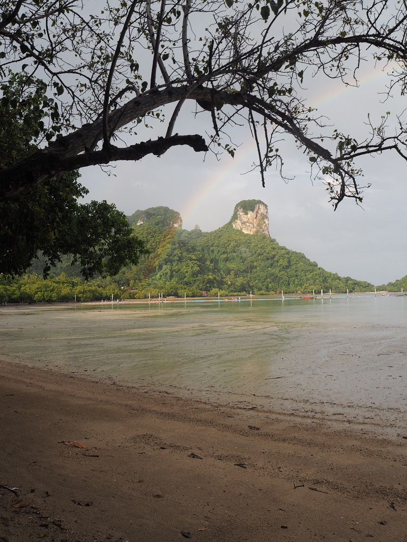 Rainbow on Railay Beach