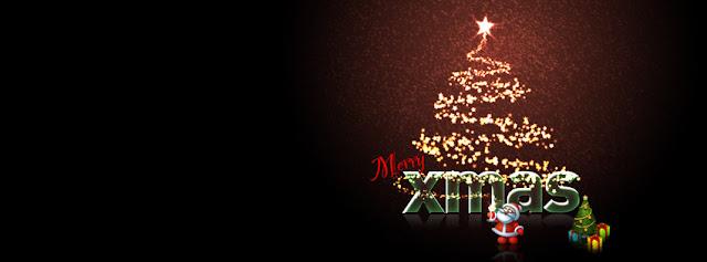 Merry Christmas Cartoon Santa Cover