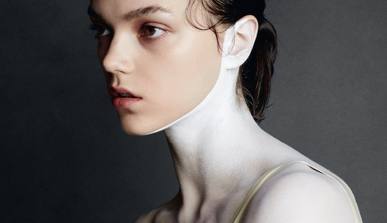 white: jenna earle by david oldham for beauty papers summer 2015