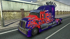 Trasnsformers 4 Optimus Prime truck