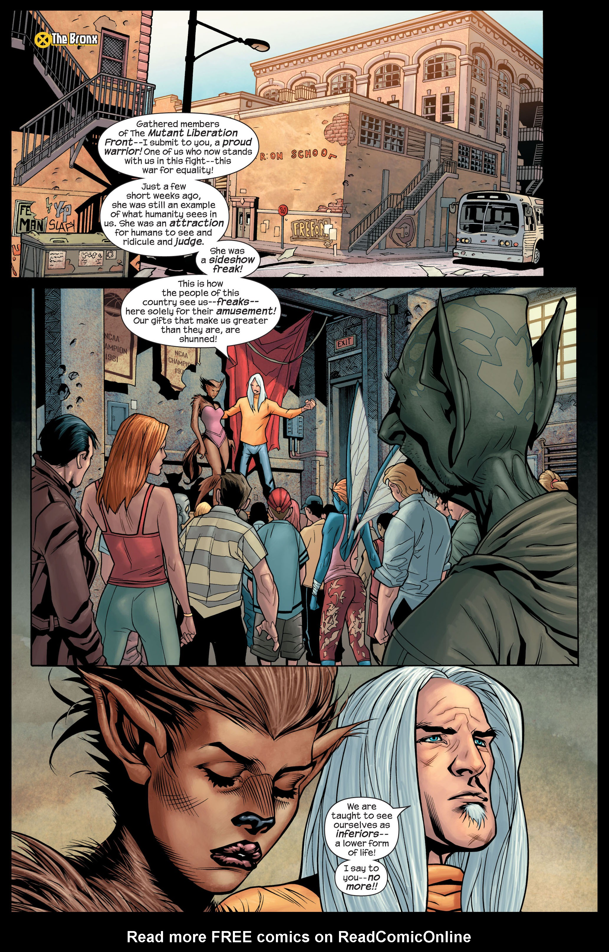 Read online Ultimate X-Men comic -  Issue #84 - 5