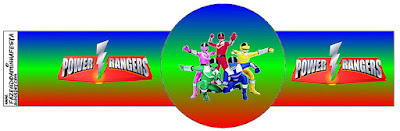 Power Rangers Free Party Printables Images And Backgrounds