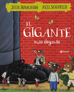 """""""El gigante más elegante"""" de Julia Donaldson y Alex Scheffler"""
