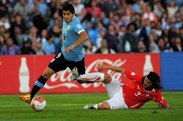 Uruguay y Chile en Clasificatorias a Brasil 2014, 11 de noviembre de 2011