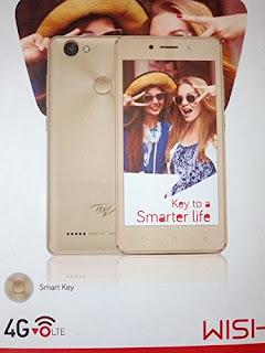 itel wish a41+ smartphone