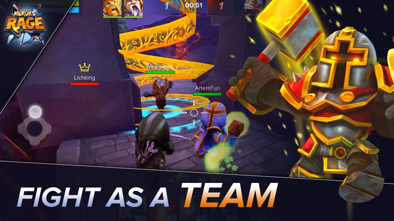 Heroes Rage MOD APK terbaru