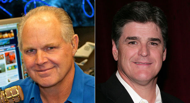 Image result for Rush Limbaugh Turns the Sean Hannity