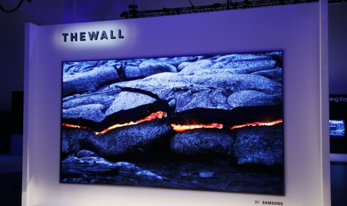 Samsung's 'The Wall' TV | Giant TV Could Be Coming to Homes Next Year