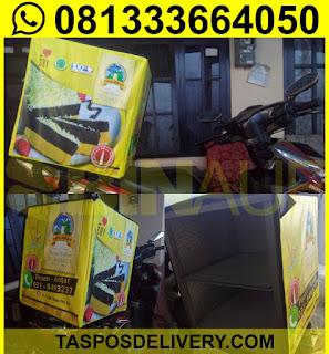 tas delivery makanan, box delivery motor lapis surabaya semarang