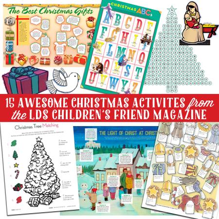 LDS christmas activities