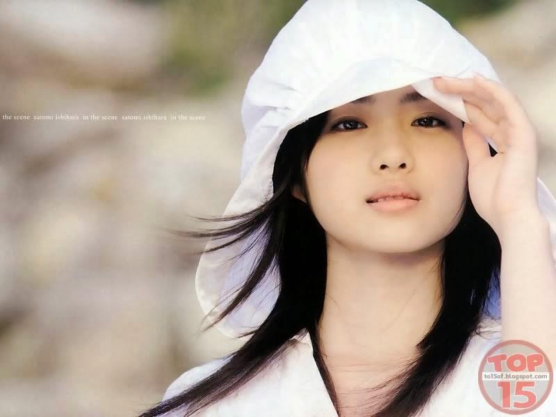 Beautiful Satomi Ishihara