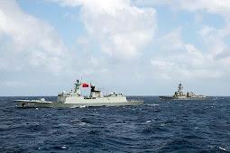 Berita Militer : China Kirim Kapal Mata-Mata Pantau Latihan Militer Bersama RIMPAC 2018 di Hawaii
