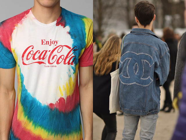 camiseta coca coca masculina logomania