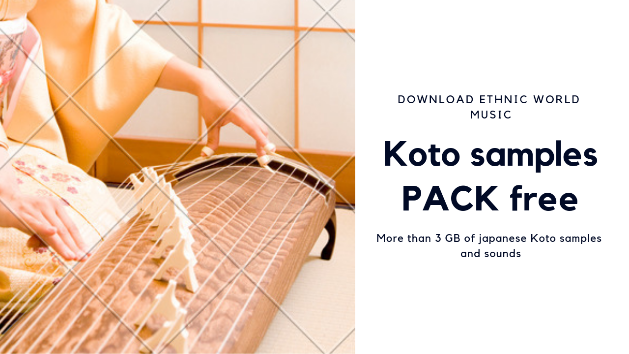 Koto sound samples download - Create your own music