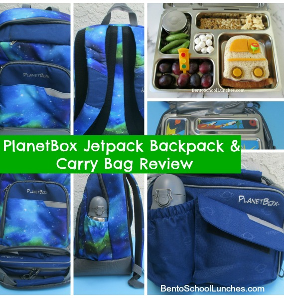 PlanetBox JetPack Backpack and Carry Bag Review