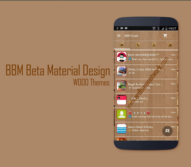 BBM Beta Material Wood Themes