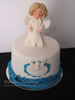 angel cake fondant sugarpaste
