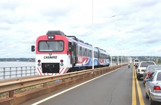 Tren internacional Posadas (Argentina) - Encarnación (Paraguay)