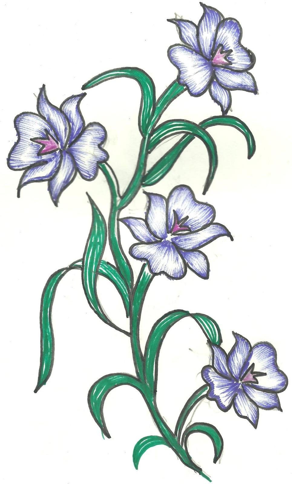 flower designs natural craft