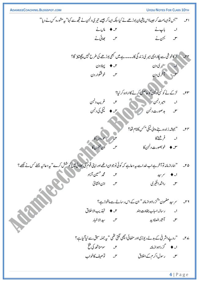 Important Essays For 10th Class 2013 Karachi Board