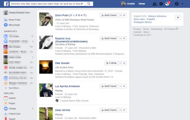 Cara Mudah Mencari Pacar Baru di Facebook