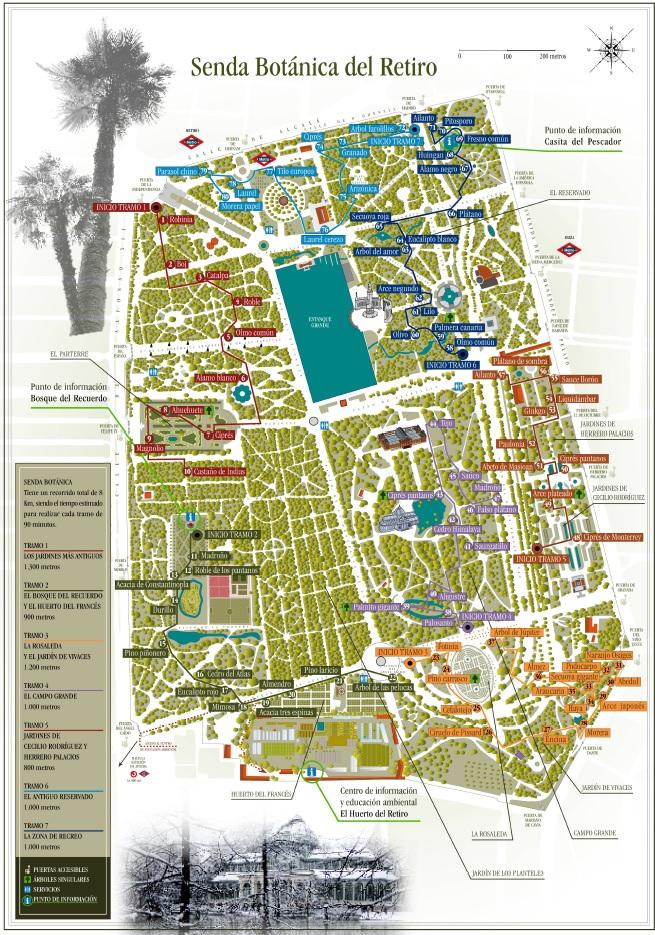 Plano Parque Del Retiro Mapa.El Sombrero De Nosferatu Un Paseo Por El Retiro El Parque