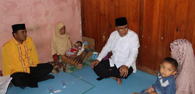 Bupati Aceh Tengah Bantu Hurin, Penderita Atresia Bilier