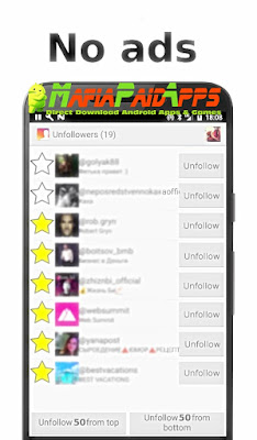Unfollowers Plus Apk MafiaPaidApps