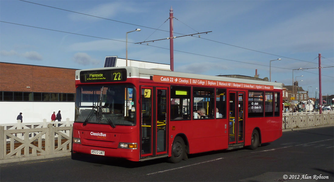 Blackpool Tram Blog Catch 22 Buses Receive Route Branding