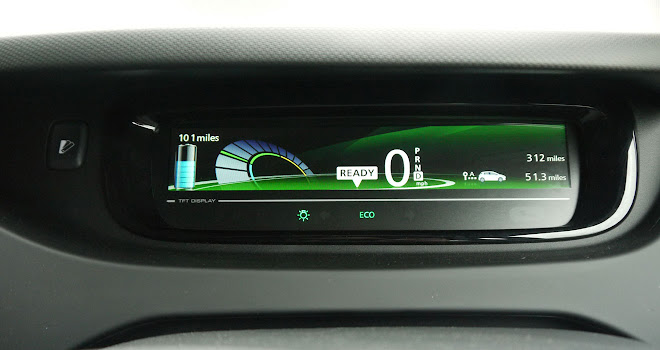 Renault Zoe 40 digital instruments