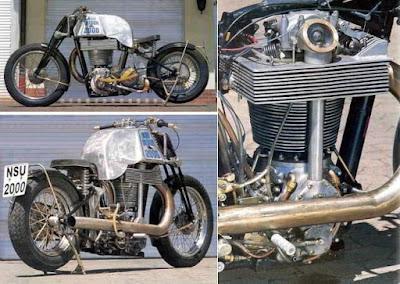 Motor bermesin single silinder berukuran besar