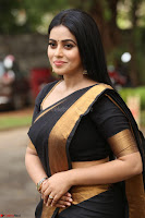 Poorna in Cute Backless Choli Saree Stunning Beauty at Avantika Movie platinum Disc Function ~  Exclusive 082.JPG