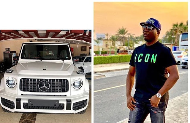 Billionaire, Ismailia Mustapha popularly known as Mompha acquires 2019 Mercedes G Wagon