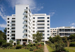 Picture of Modernist Apartment Blocks Highpoint I and II Highgate, London